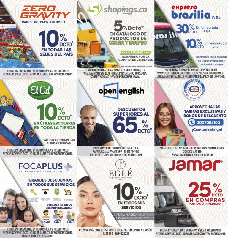 Catálogo club de beneficios Coophumana - Fie 5