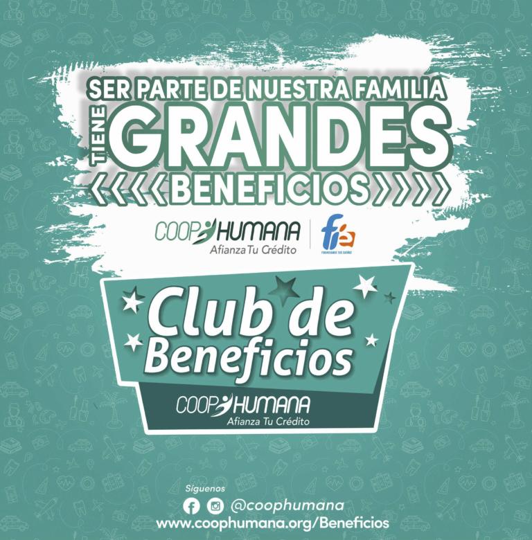 Catálogo club de beneficios Coophumana - Fie